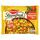 Birds Eye Steamfresh Fragrant Golden Vegetable Rice 2 Bags 380g