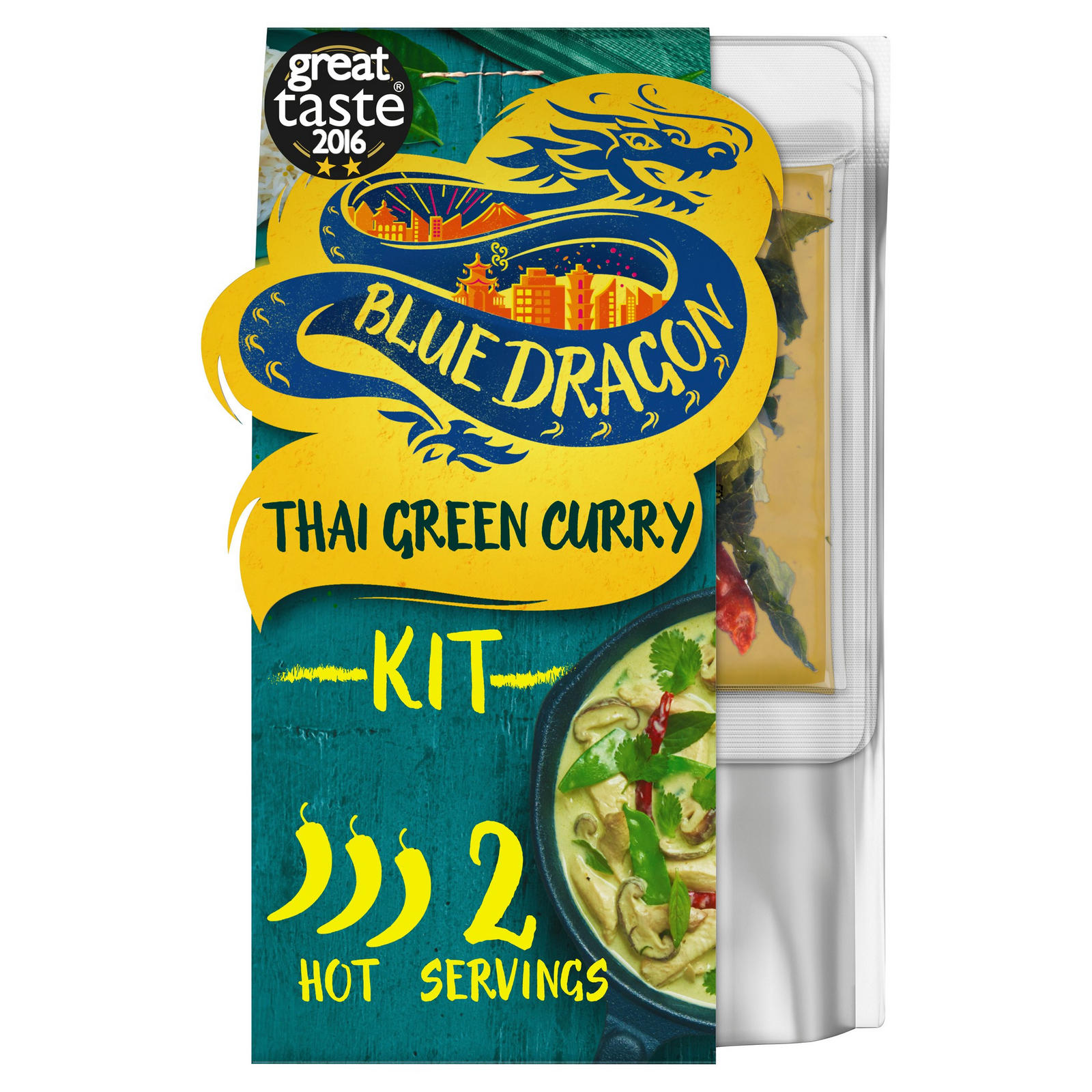Blue Dragon Thai Green Curry Kit 253g Indian And Curry