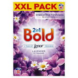 Bold 2in1 Washing Powder Lavender & Camomile 5.2Kg 80 Washes