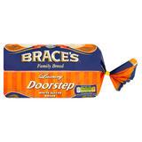 Brace's Family Bread Luxury Doorstep White Sliced Bread 800g