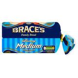 Brace's Family Bread Luxury Medium White Sliced Bread 800g
