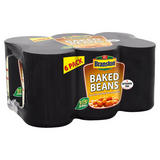 Branston Baked Beans in a Rich and Tasty Tomato Sauce 6 x 410g