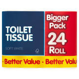 Breeze Toilet Tissue Soft White 24 Roll