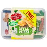 Brompton House Apple Puffs + 1 Free Sweet Heart 12 x 25g (300g + 11g)