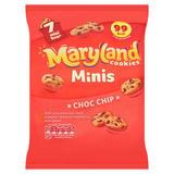 Maryland 7 Cookies Minis Choc Chip 138.6g