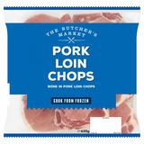 The Butcher's Market Pork Loin Chops 650g