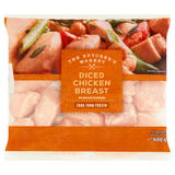 The Butcher's Market Diced Chicken Breast 600g