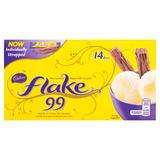 Cadbury Flake 99 Chocolate 14 Mini Bars 114g
