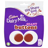 Cadbury Dairy Milk Giant Buttons Chocolate Bag 240g