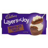 Cadbury Layers of Joy Chocolate Trifle Desserts 2 x 90g