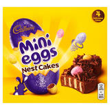 Cadbury 4 Mini Eggs Nest Cakes