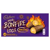 Cadbury 5 Honeycomb Flavour Mini Bonfire Logs