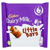Cadbury Dairy Milk Little Bars 6 Pack 108g