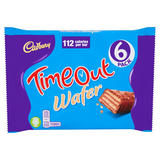 Cadbury Timeout Wafer 6 Pack 127.2g