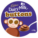 Cadbury Dairy Milk Buttons Twin Pot Chocolate Potted Dessert 90g