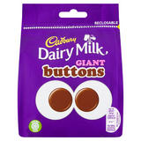 Cadbury Dairy Milk Giant Buttons Chocolate Bag 95g