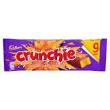 Cadbury Crunchie Chocolate Bar 9 Pack 234.9g