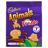 Cadbury Animals Mini Biscuits 7 Pack 139.3g