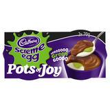 Cadbury Pots of Joy Screme Egg 2 x 70g