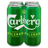 Carlsberg Danish Pilsner 4 x 568ml Cans