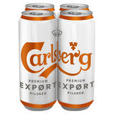 Carlsberg Export Lager 4 x 568ml Cans