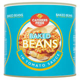 Caterers Pride Baked Beans in Tomato Sauce 2.62kg
