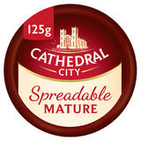 Cathedral City Spreadable Mature Cheese 125g