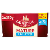 Cathedral City Lighter Cheese Twin Pack 2 x 350g