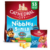 Cathedral City Kids Snack Nibbles Mild Lighter Cheese 5x16g