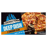 Chicago Town 2 Deep Dish Chicken Club Pizzas 320g