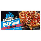 Chicago Town Deep Dish Pepperoni Pizzas 320g