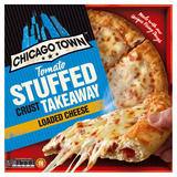 Chicago Town Takeaway Large Stuffed Crust Cheese Pizza 630g