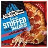 Chicago Town Takeaway Large Stuffed Crust Pepperoni Pizza 645g