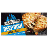 Chicago Town Deep Dish Four Cheese Pizzas 8 x 155g (1240g)