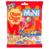 Chupa Chups 22 Assorted Flavour Mini Lollipops 132g