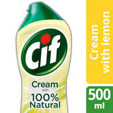 Cif Lemon micro-crystals Cream Cleaner for delicate surfaces and materials 500ml