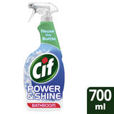 Cif Power & Shine Bathroom soap & limescale removal Spray for tough dirt 700ml
