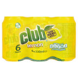 Club Lemon 6 x 330ml