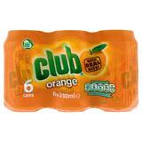 Club Orange 6 x 330ml