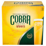 Cobra Premium Beer 12 x 330ml