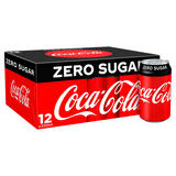 Coca-Cola Zero Sugar 12 x 330ml