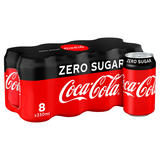 Coca-Cola Zero Sugar 8 x 330ml