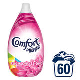 Comfort Intense Fuchsia Passion Fabric Softener Liquid 60 Wash 900 ML