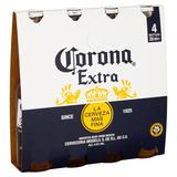 Corona Extra Premium Lager Beer Bottles 4 x 330ml