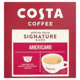 Costa Coffee Mocha Italia Signature Blend Dolce Gusto Compatible Americano 16 x 7.6g (121.6g)