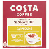 Costa Coffee Mocha Italia Signature Blend Dolce Gusto Compatible Cappuccino 146.4g