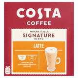 Costa Coffee Mocha Italia Signature Blend Dolce Gusto Compatible Latte 193.6g