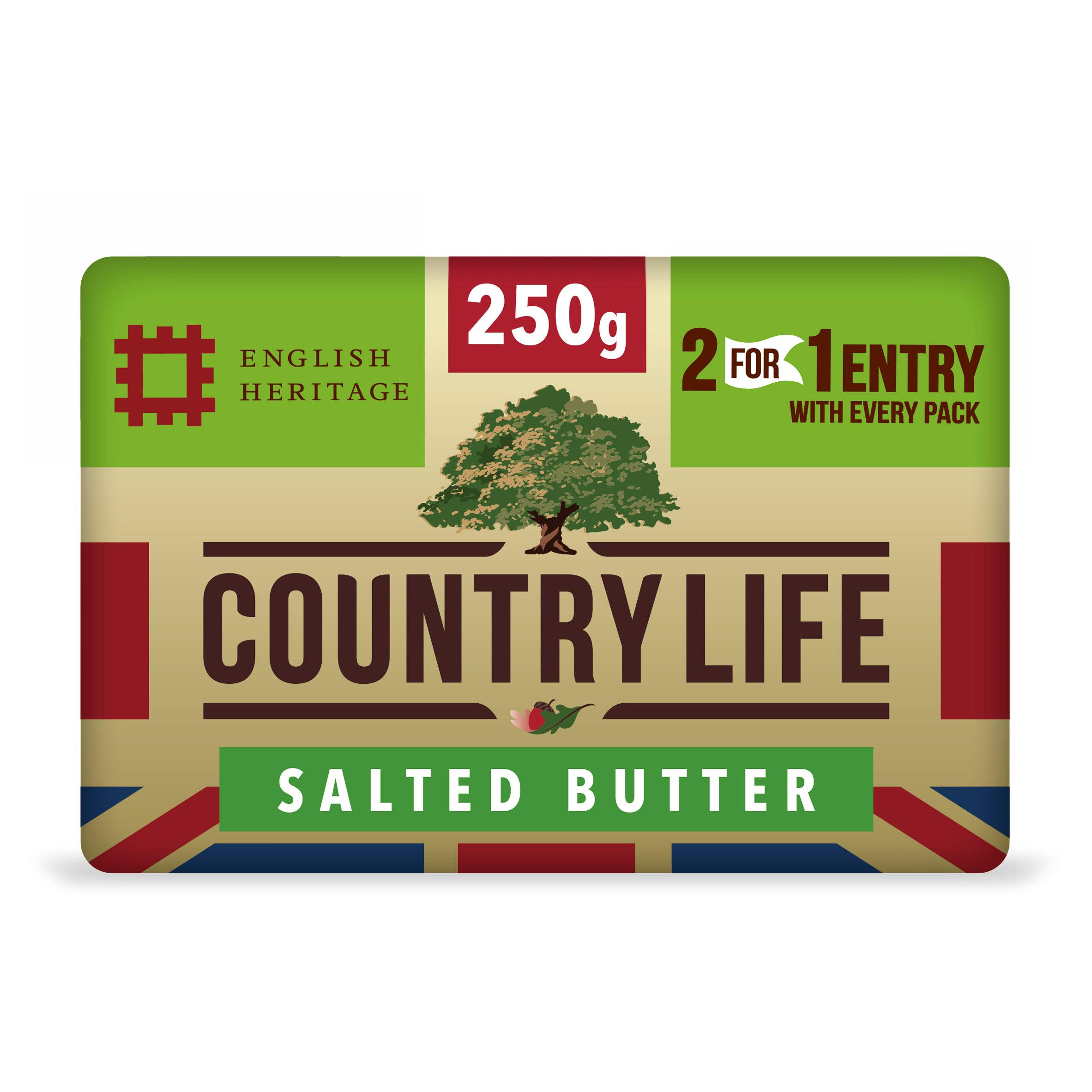 Country Life Salted Butter 250g | Butter & Margarine