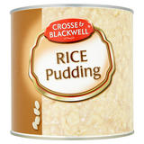 Crosse & Blackwell Rice Pudding 2610g