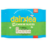 Dairylea Cheese Slices 16 Pack 400g